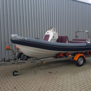 Ribeye A600 Custom RIB with Van Claes GYRO trailer